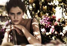 Bianca Balti for Dolce & Gabbana Jewelry 2013 Ad Campaign by Giampaolo Sgura