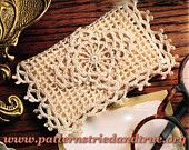 Business Card / Gift card / Travel Tissue Case, Crochet Pattern DIY Scrapbooked Digital Instant Download PDF File - pinned by pin4etsy.com