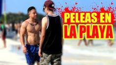 PELEANDO CON DESCONOCIDOS | BROMAS PESADAS EN LA PLAYA | Jacob Valencia