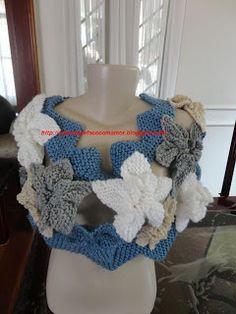 Brasil Tricô & Crochê - Orders made by hand - Encomendas feitas a mão.: eu que fiz