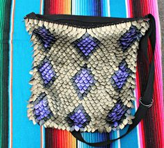 Scale Mail Over the Shoulder Purse -ConchoPurl