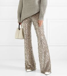 If you're sick of dresses this season, opt for a pair of festive pants instead!