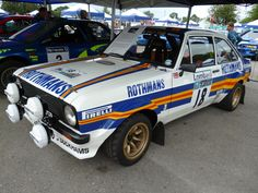 1970s Ford Escort Rally Car