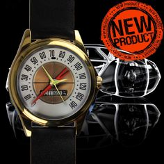 Vintage 1960 Ford ThunderBird DV spedometer Leather Watches