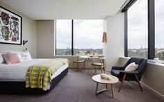 Look inside Melbourne's latest Art Series Hotel, The Larwill Studio gallery - Vogue Living