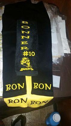 Kustome football tights and towel