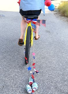 Fourth of July Decorated Bikes