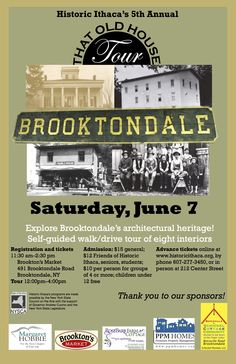 Brooktondale Old House Tour June 7, 2014...Historic Ithaca Self-guided tour of eight interiors