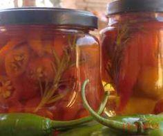Receita de Pimenta em conserva - Show de Receitas