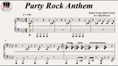 Party Rock Anthem - LMFAO feat. Lauren Bennett and GoonRock, Piano https://youtu.be/2dTG5YVUlR4