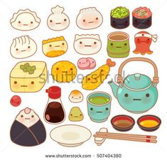 Tapestry Collection of Lovely Baby Japanese Oriental Food Doodle Cute Sushi Adorable Dumpling Sweet Tempura Kawaii Home Decor Wall Hanging for Living Room Bedroom Dorm inches Sushi Drawing, Baby Drawing, Food Doodles, Kawaii Doodles, Cute Food Art, Cute Art, Tempura, Paper Dolls Clothing, Drawing Lessons For Kids