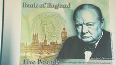 Sir Winston Churchill to feature on new bank note. It will be in circulation in 2016. Can't think of anyone else apart from HM The Queen that I would rather see every day!