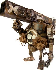 World War Robot - Heavy Cydonia Western Bramble Defense