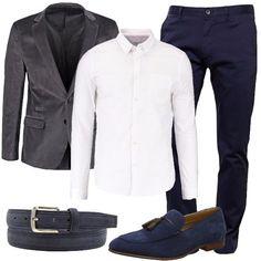 La cintura scamosciata  outfit uomo Business Elegance per tutti i giorni e  ufficio  ea6cf65b610