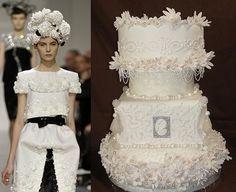 fashion wedding cakes ideas