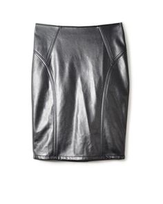Pleather pencil skirt Leather Skirt, Pencil, Skirts, Stuff To Buy, Clothes, Fashion, Outfits, Moda, Skirt