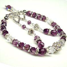 Purple Wedding Jewelry | visit etsy com