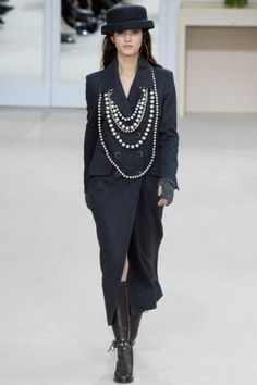 Suzy Menkes on Chanel's Instagramable Paris fashion week show: Karl Lagerfeld is digitally and sartorially savvy.