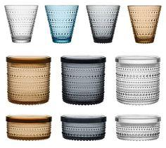 Kuvahaun tulos haulle kastehelmi kattaus Nordic Design, Scandinavian Design, Clear Glass, Glass Art, Lassi, Marimekko, Interior Accessories, Glass Design, Kitchen Interior