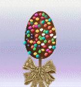 Πασχαλινά σοκολατένια αυγουλάκια - γλειφιτζούρια