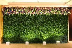 I love boxwood hedges - maybe use as head table back drop?