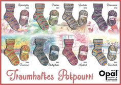 Opal Sock Yarn Potpourri of Dreams