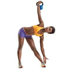 Abs Exercises Better Than Crunches : Kettlebell Windmill | Rodale Wellness