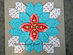 Lucy Boston Patchwork of the Crosses Kit - Block # 0016 by FeatherweightQuiltCo on Etsy (null)