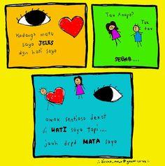 the heart vs the eye