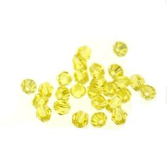 50 x round crystal beads,fits living locket necklaces Lemon yellow : OK Charms, China Wholesale Jewelry Accessories Marketplace