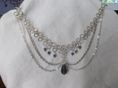 Hey, I found this really awesome Etsy listing at https://www.etsy.com/listing/199371626/chainmaille-choker-necklace