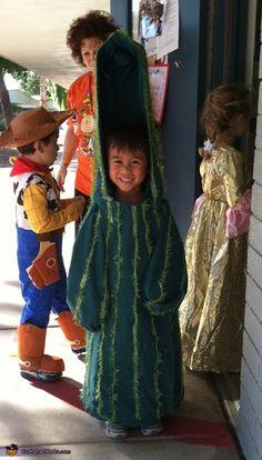 Creative Homemade Costume - Saguaro Cactus