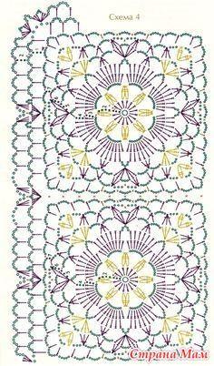 Transcendent Crochet a Solid Granny Square Ideas. Inconceivable Crochet a Solid Granny Square Ideas. Crochet Motif Patterns, Granny Square Crochet Pattern, Crochet Blocks, Crochet Diagram, Crochet Chart, Crochet Squares, Crochet Granny, Crochet Designs, Granny Square Häkelanleitung