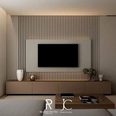 Good Housekeeping Mantra: 30 TV Wall Units To Organize And Stylize Your Home Home Room Design, Home Interior Design, Interior Architecture, Living Room Interior, Home Living Room, Kitchen Interior, Tv Wall Ideas Living Room, Apartment Interior, Room Kitchen