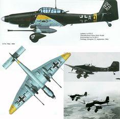 Junkers Ju.87G-2 Stuka из состава III/St.G2 1944