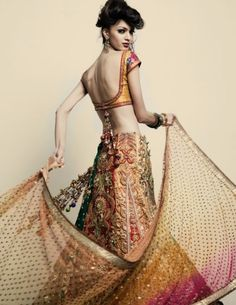 I would love to be able to wear saris