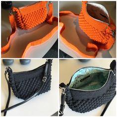 Sådan hækler du en smuk taske med 3D-blade - %