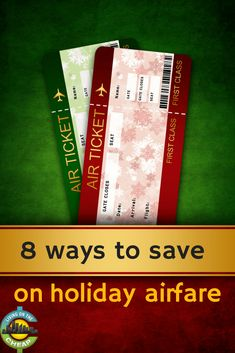 Holiday travel is always more expensive, and it will be even more costly to fly this year thanks to airline consolidations & cuts in seat capacity. Check out this post for eight ways to save on your holiday flights.