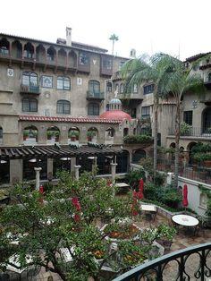 Mission Inn courtyard, Riverside, CA