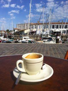 #café, saint Martin de ré , summer 2013