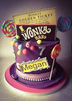Image result for willy wonka style cakes