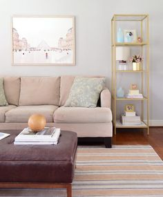 Easy Makeover: Taking A Neutral Living Room From Plain To ...