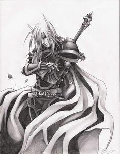 Blood Knight Aurelius by Altana.deviantart.com on @DeviantArt