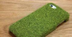 Shibaful iPhone 5 Case With Real Grass Texture