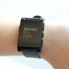 Pebble Smart Watch Delivers on Kickstarter Promise and More   Seems to be top smartwatch of 2013.