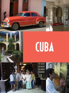 Cuba! Seriously. I want to go here.