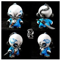 "Vinyl Riot Blog: ""Sooma: Master Of Water"" Elemental Panda by Fuller Designs"