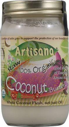 Artisana 100% Organic Raw Coconut But...