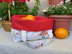Reversable fabric basket