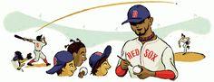 Adam McCauley Illustration | Red Sox